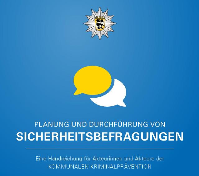 Veröffentlichungen - Handreichung Sicherheitsbefragungen